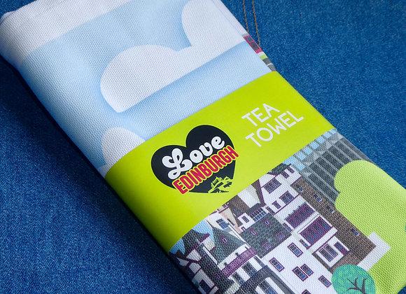 Edinburgh Tea Towel