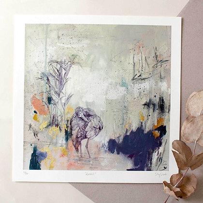 Ibis Bird Print