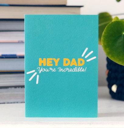 Hey Dad Card