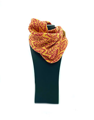 Orange Lambswool Snood