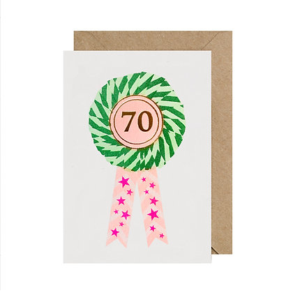 Age 70 Birthday Card