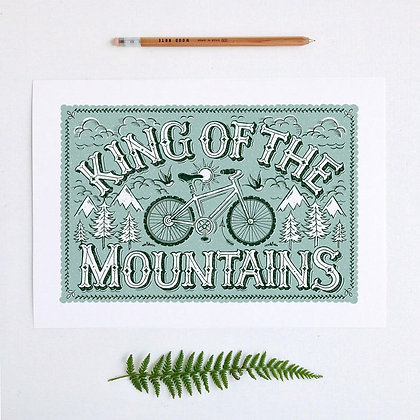 Mountain Bike Print