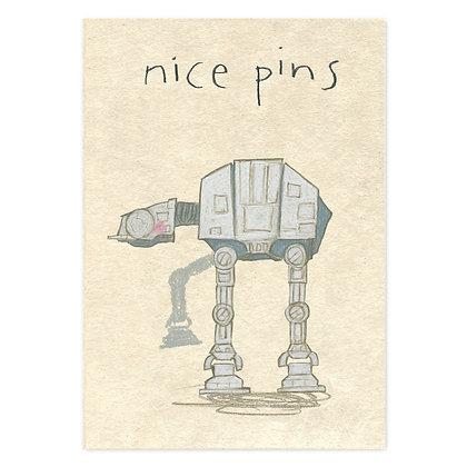 The Grey Earl Nice Pins Card