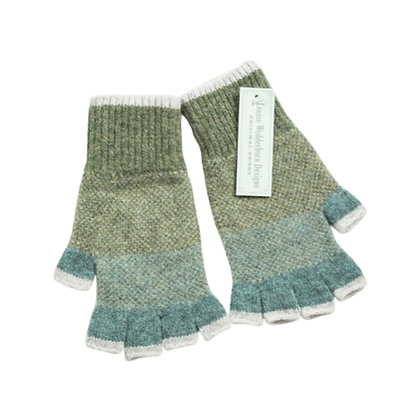 Ladies Highland Woollen Fingerless Gloves