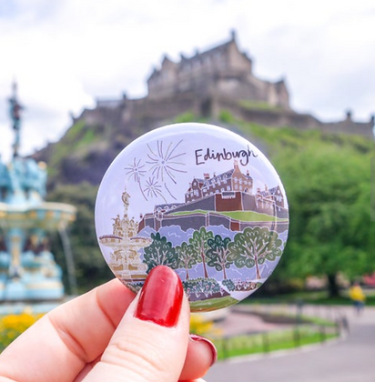 Edinburgh Castle Magnet