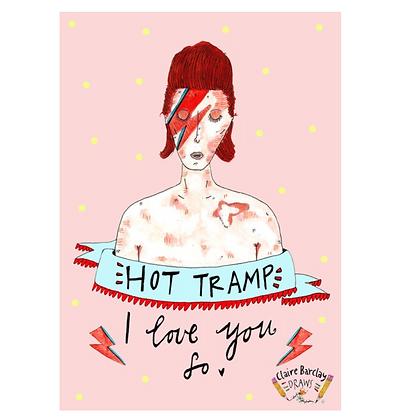 Hot Tramp Print