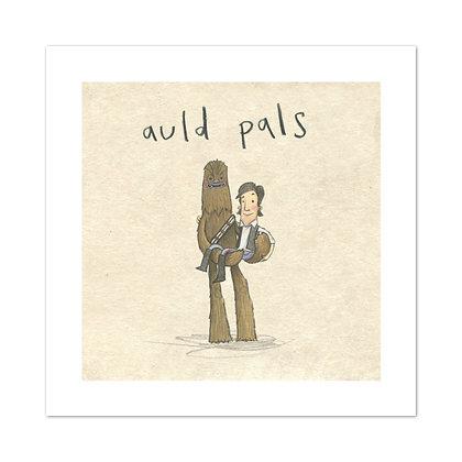 Auld Pals Print