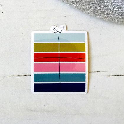 Small Present Sticker