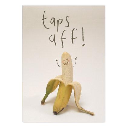Taps aff Grey Earl Card