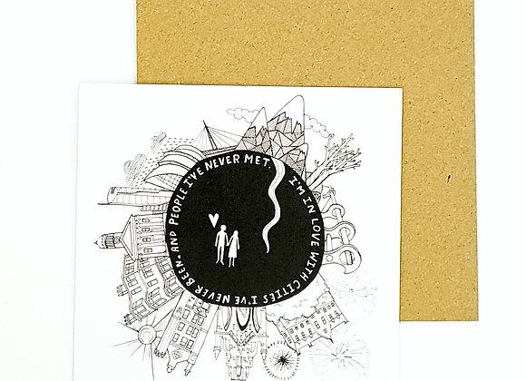 Must Dash Illustration card
