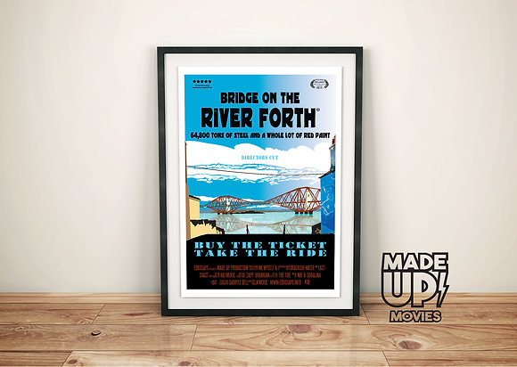 Bridge On The River Forth Movie Poster Print