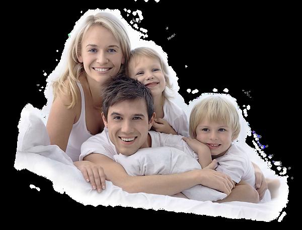 famiglia felice per avere scelto la Merenda Porzio