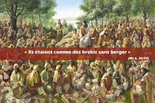 Prière universelle du 16ème dimanche ordinaire Marc 6,30-34.