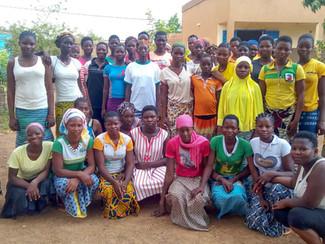 Projet de Carême : Autonomisation de deux foyers de jeunes filles au Burkina Faso