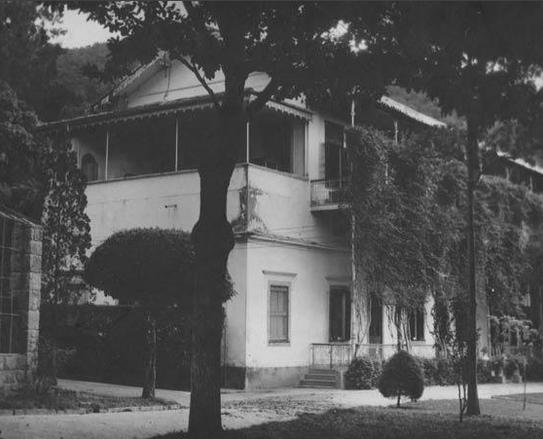 Foto da propriedade em 1960