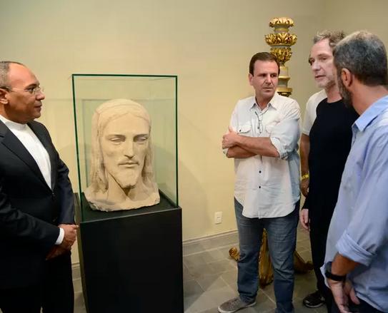 """Inauguração do anexo do Museu, com exposição de Oskar Metsavaht """"Divina Geometria"""""""