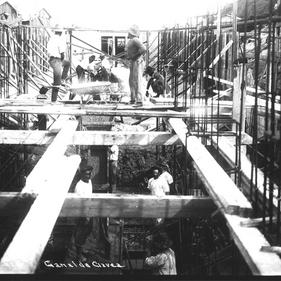 Construção do Canal da Visconde de Albuquerque