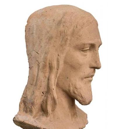 Modelo da cabeça do Cristo Redentor