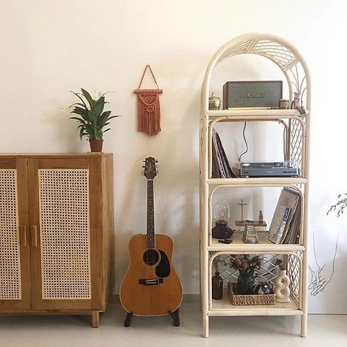 Natural Bookshelf without cabinet door (New Arrival)