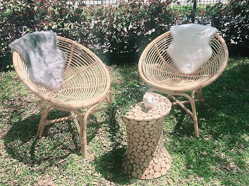 Large Natural Coil Hami Chair 27 '' (New Arrival)