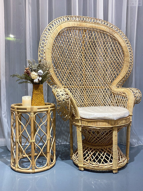 Queen Peacock Chair (New Arrival)