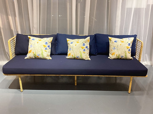 French Country Rattan Sofa (New Arrival)
