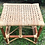 Thumbnail: Little  brown stool with white oak webbing (New Arrival)