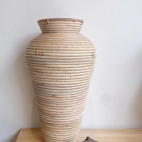 Rattan Large Round Vase (New Arrval)