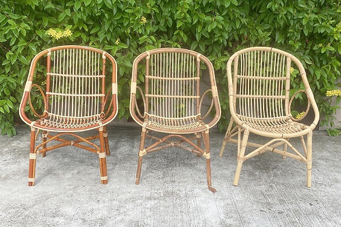Rattan Two Ring Chair (New Arrival)