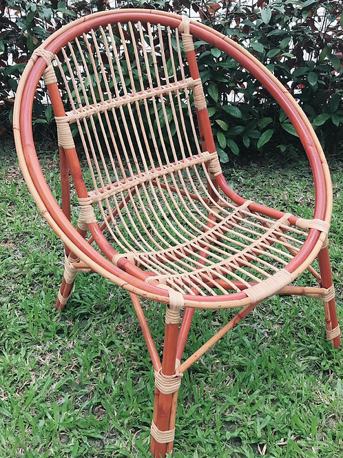 Brown Rattan Egg Chair (New Arrival)