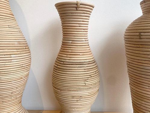Rattan Short Vase (New Arrival)