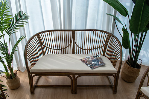 2 Seater Rattan Sofa (New Arrival)
