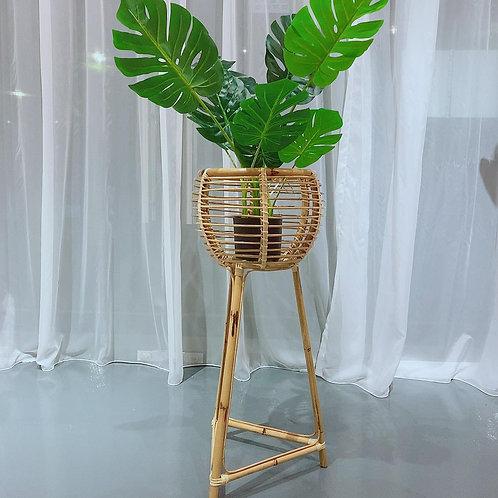 Rattan Pot Plant Stand (Large)