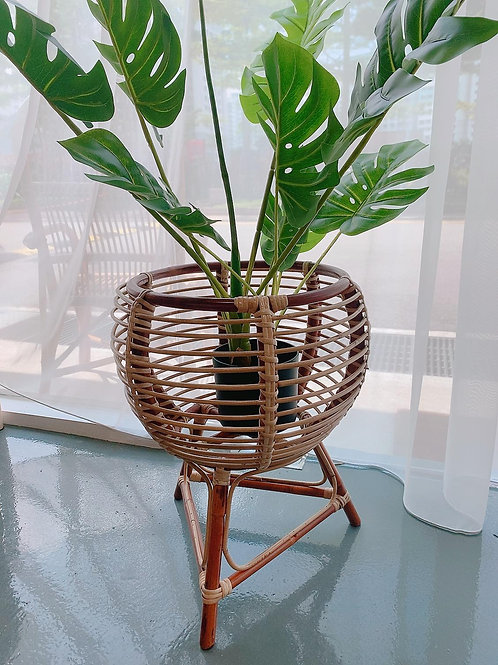 Rattan Pot Plant Stand (Small) New Arrival