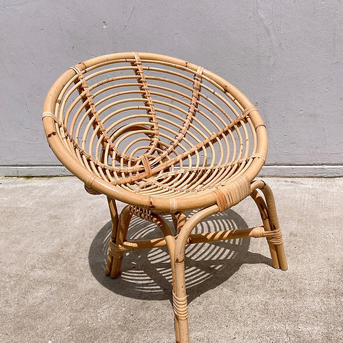 Natural Coli  Hami Kid Rattan Chair 20'' *Backorder*