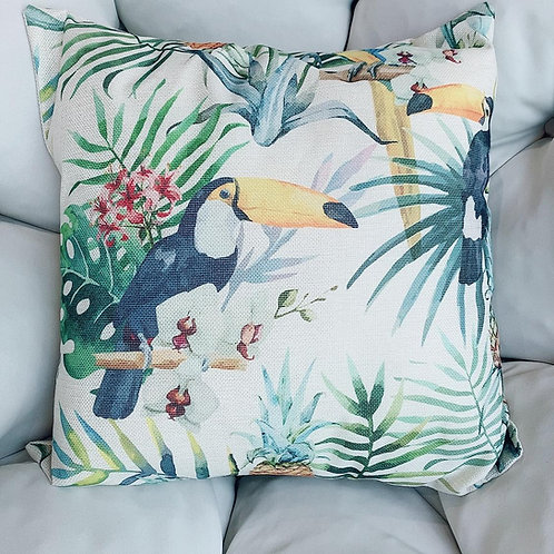 Artificial Bird Cushion With  Cover (New Arrival)A
