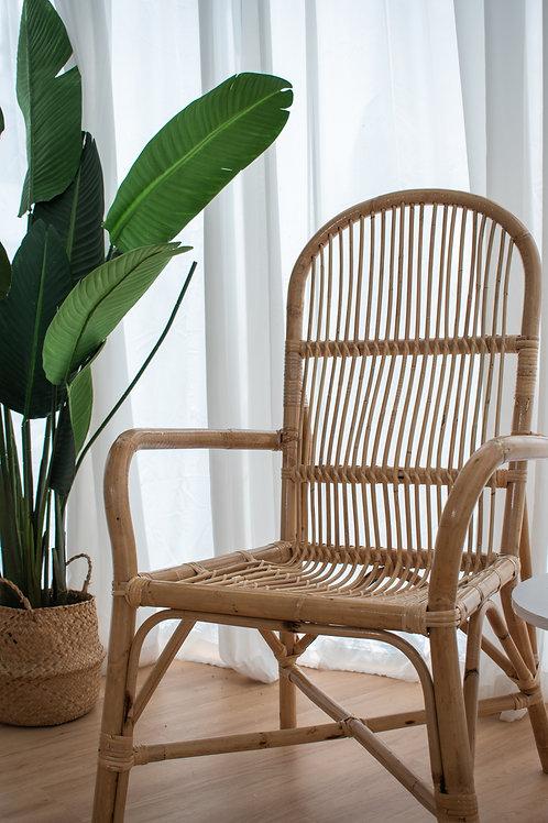 Natural Round Manau Patio Chair (New Arrival)