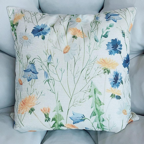 Daisy Flower Cushion With Cover (New Arrival)