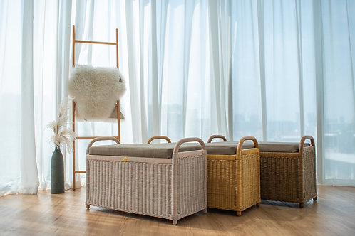 Rattan Bench (New Arrival)