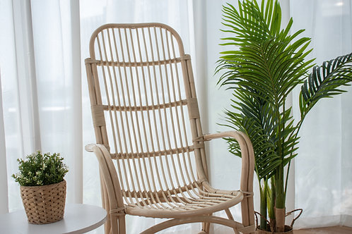 Natural  Highback Patio Chair (New Arrival)