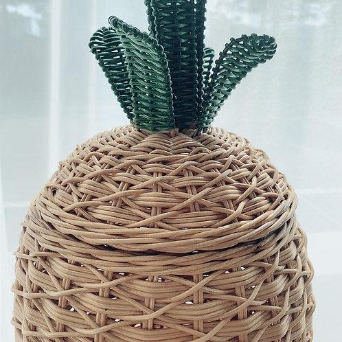 Pineapple Braided Storage Basket (New Arrival) *Left 1 pcs*
