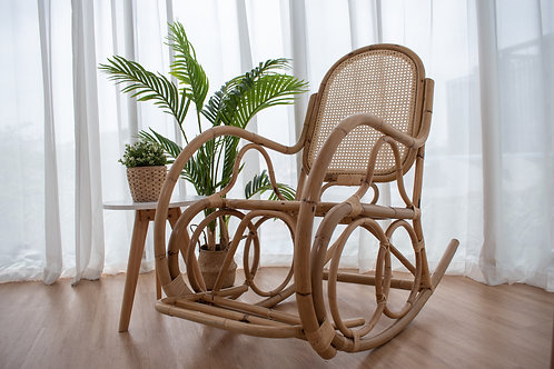 White Oak Webbing Rocker (Backorders Arrive))