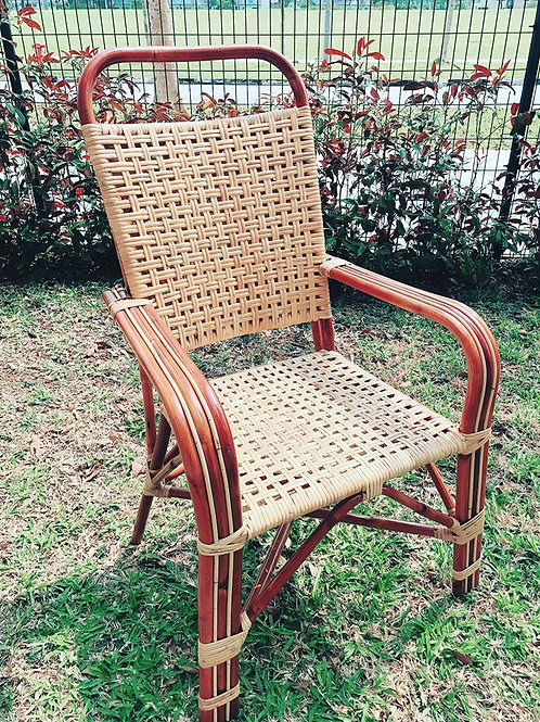 Brown Rattan Wicker Chair