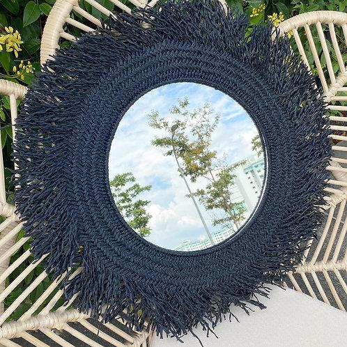 Raffia Mirror (New Arrival)