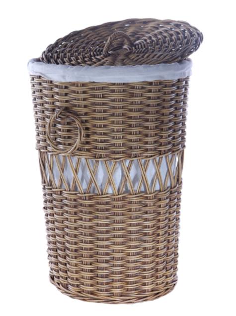 Wicker Laundry Basket (New Arrival)