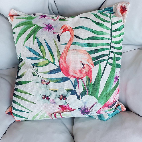 Flamingo  Cushion With Cover ( New Arrival)
