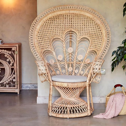 Florence natural rattan peacock chair (New Arrival)