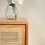Thumbnail: Raffles Side Table Cabinet With Hand Woven Rattan