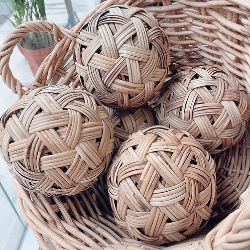 Rattan Woven Ball (New Arrival)