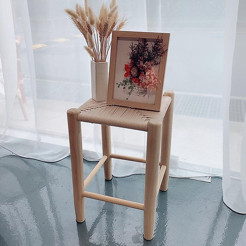Nordic Woven Stool (New Arrival)